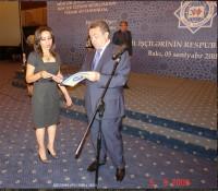 M. Mərdanovun diplom təltifi